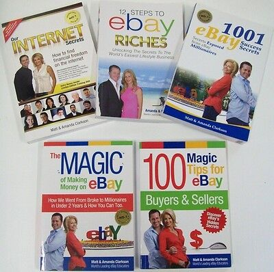 eBay Books Make Money Start a Successful Online Business Income Job from Home.