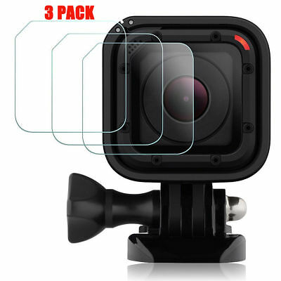 3 Pack GOPRO Hero5 Hero4 Session Sport Camera Tempered Glass Screen Protector
