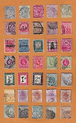 South Africa Stamps, Cape of good Hope, Natal mix, hinged
