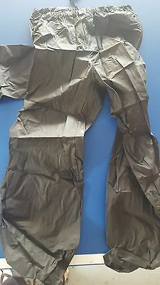 Waterproof jacket and pant suitable for cycling, sailing, boating