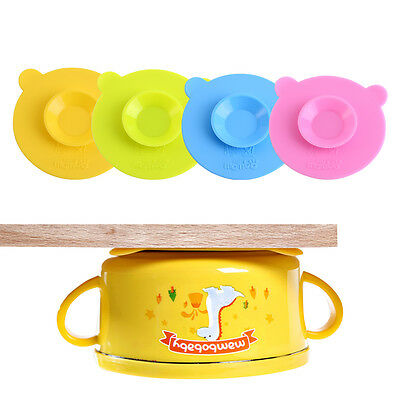 Silicone Mat Baby Kids Bowl Suction Table Food Tray Placemat Plate Dish Safe