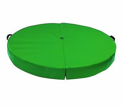 10cm Thick Green Pole Dancing Fitness Mat Spinning Gymnastics Crash Safety Pad