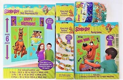 Scooby Doo Where Are you Tableware and Decoration Party Pack