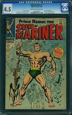 SUB-MARINER #1 CGC 4.5 Big Premiere Issue! Story continued from Iron Man & Sub#1