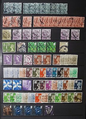 GB Regional Issues Mixed Selected Stamps (No335)