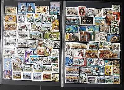 GUERNSEY,BAILIWICK OF GUERNSEY,ALDERNEY Mixed Unchecked Stamps (No1391)
