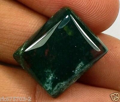 14.11 CT BLOOD STONE 100% NATURAL GIE Certified Best Quality Awesome Gem