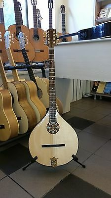 Concert Irish Bouzouki with EQ, made by Hora, Romania, solid wood, NEW+soft case