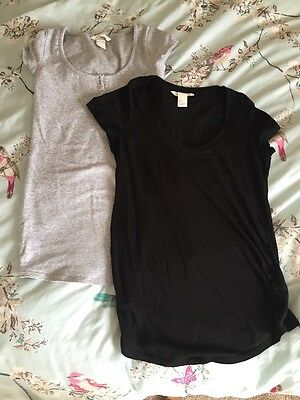 2 H & M Maternity Tops Xs