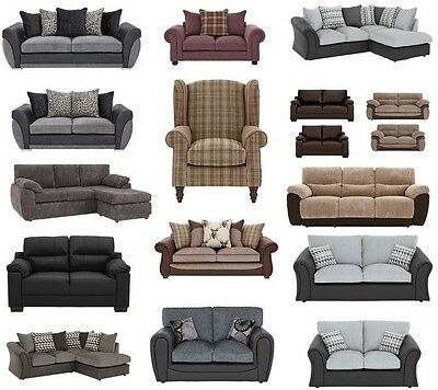 Ex Catalogue Suites, Sofas, Corners Groups Trade Only Furniture Wholesaler £250