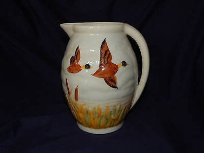 Shorter And Son Mallard Jug With Certificate Of Authenticity