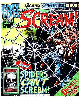 1980's Scream  Collection 15 Issues & 5 Specials