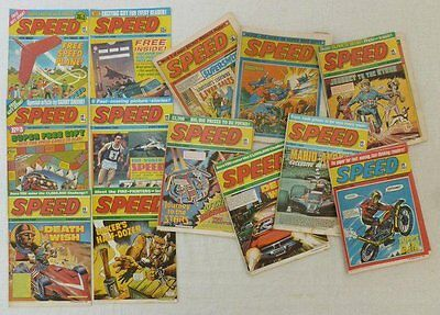 My Complete Speed Comics Collection 31 Issues - 2 Annuals & 1 Special