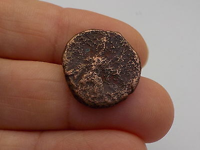Unresearched Ancient Bronze Coin Metal Detecting Find....