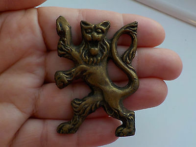 Lion Rampant Mount Metal Detecting Find