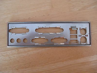 One Metal Backplate I/o Shield For   Ms-6534 V1 Fast Uk Despatch