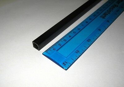 1x Carbon Fibre Square Tube 10mm x 10mm x 1000mm (TS10-1000) : £10.75
