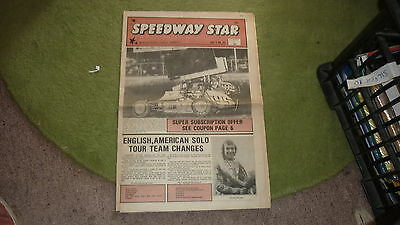 Old Australian Speedway Star Motor Racing Magazine, Nov 13 1980