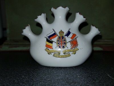 Crested China - The Triple Entente 1907?