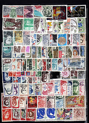 100 timbres france neufs ** tous differents