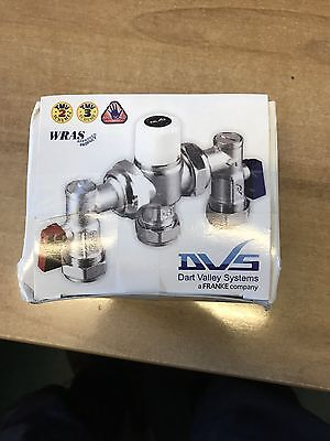 Dart Valley Thermostatic Mixing Valve AC17-047 4in1 – 15/22mm