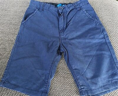 Age 10 Boys Blue Shorts -  Next - Excellent Condition