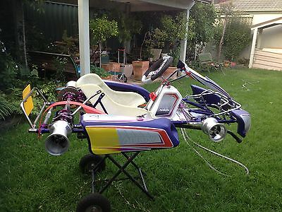 Arrow Amax 30/32 Go Kart - complete Rolling Chassis - Brand New