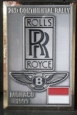 Rolls-Royce & Bentley meeting Lapel Pin Montecarlo
