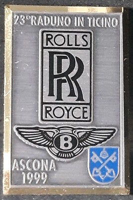 Rolls-Royce & Bentley meeting Lapel Pin