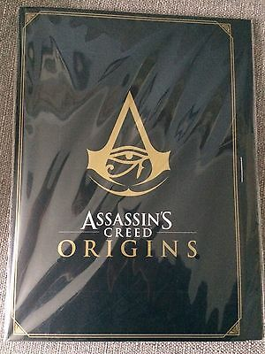 Assassin's Creed Origins - 4 Large Lithographs signed by the Ubisoft team
