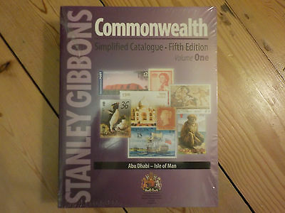 NEW IN! Stanley Gibbons Commonwealth Simplified Stamp Catalogue in two volumes