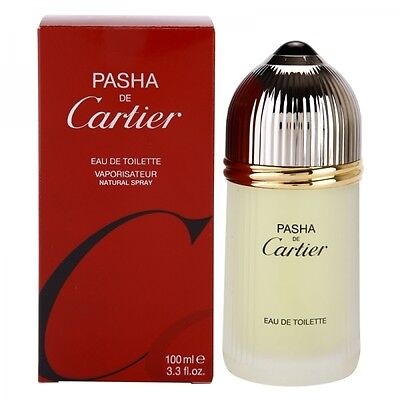 Cartier PASHA DE CARTIER 100 ml Eau de Toilette Spray NEU&OVP