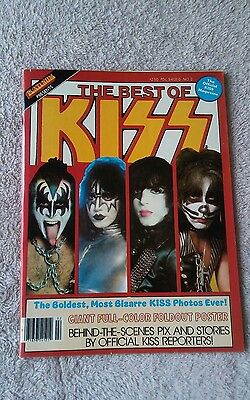KISS Rare 1979 Best Of KISS Magazine Complete Excellent Condition Aucoin