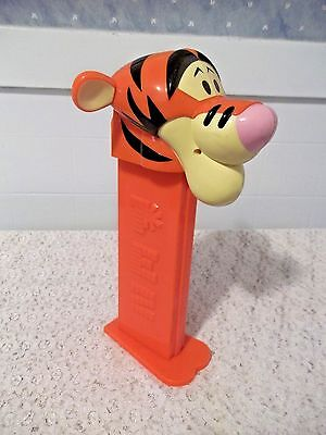 """JUMBO Size PEZ CANDY Container """"TIGGER"""" Disney Winnie the Pooh 11"""""""