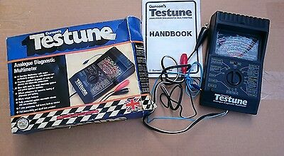 Classic Gunson's Testune Analogue Diagnostic Multimeter boxed+ instructions