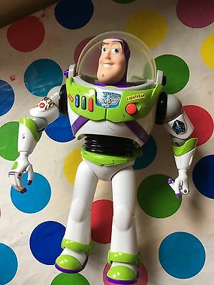 Disney Toy Story Buzz Lightyear Action Figure Large Toy Doll