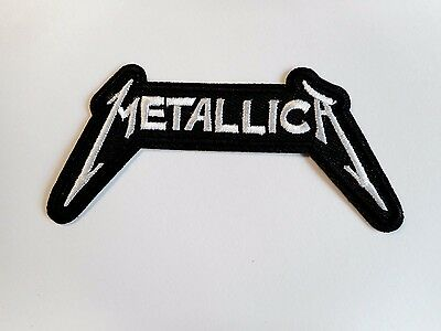 1x Metallica Rock Band Patches Embroidered Cloth Applique Badge Iron Sew On