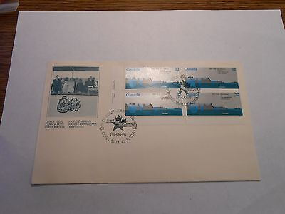 25Th Anniversary St Lawrence Seaway Fdc Canada Cover 1984