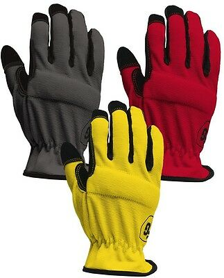 Firm Grip Large High Dex Gloves 3-Pack Safety Construction Work Protective New