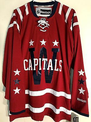 NHL Washington Capitals Winter Klassisches Premier Eishockey Hemd Trikot