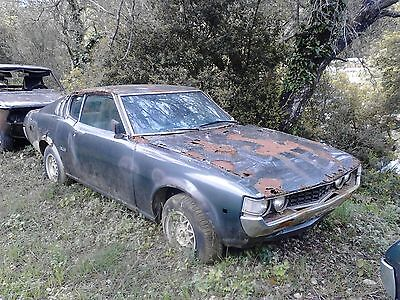 Toyota Celica 2000 GT RA 25 barn find extremely rare 1974