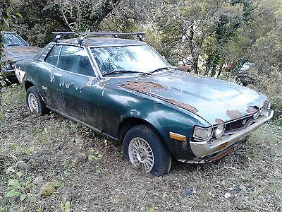 Toyota Celica 2000 GT RA barn find Restoration project