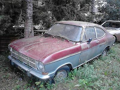 Opel kadett Rallye Rally 1900S extremely rare 1968 Barn find restoration project