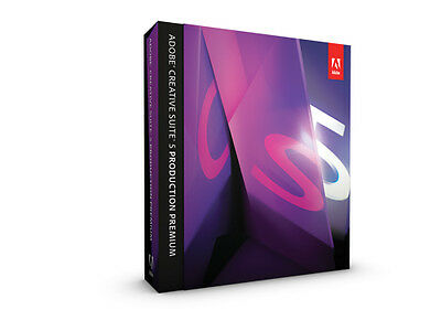 Adobe Creative Suite CS5 Production Premium Windows deutsch Vollversion Mwst BOX