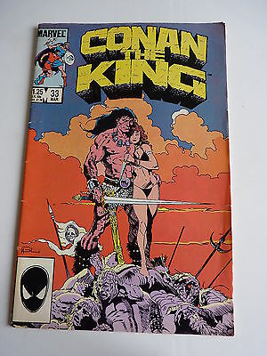 Marvel Comic ~  Conan the King ~  Vol 1   Issue # 33 ~ 1st Print  1988