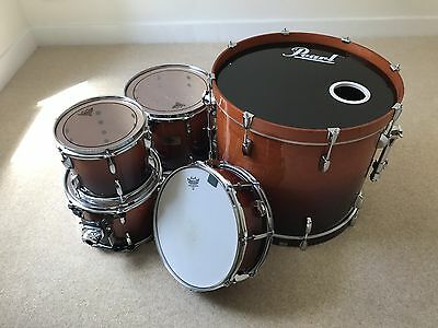 Pearl Session Custom Drum Kit - Vintage Fade laquer - Excellent Condition