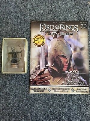 Eaglemoss Lord Of The Rings Chess Collection Issue 70