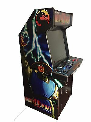 Arcade Rewind 2019 In 1 Upright Arcade Machine With Mortal Kombat 2 Cabinet