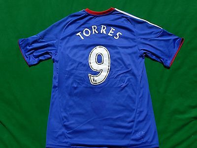 Chelsea 2010-11 Football Home Shirt Torres 9 ,mens Large