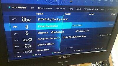 BT Youview DB T2200/BT/DF HD Freeview Set Top Box